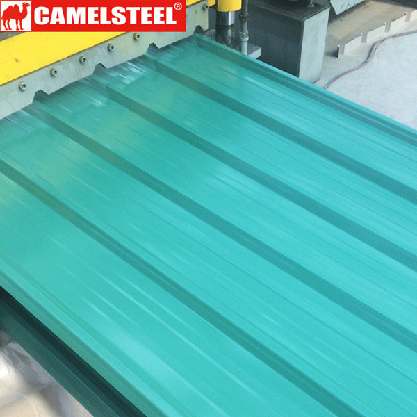 Metal roofing companies-camelsteel-colour steel roofing