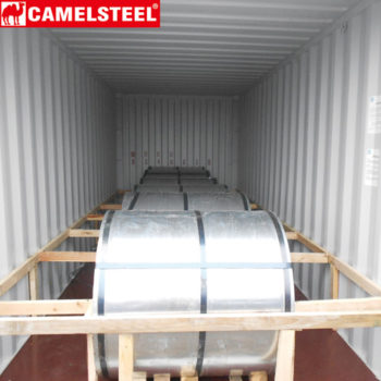 steel coil loading container