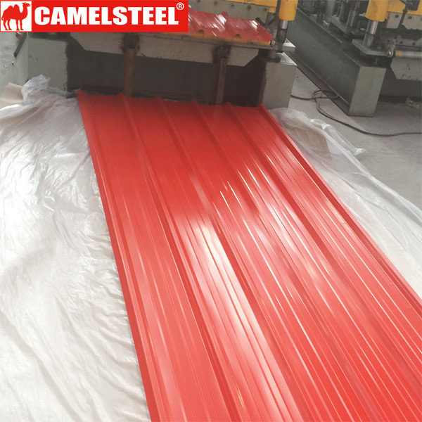 Corrugated Roofing Sheet-Pre-painted galvanized steel sheet-camelsteel.com