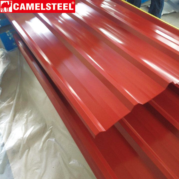 Corrugated Roofing Sheet-steel roofing by zibo camel material