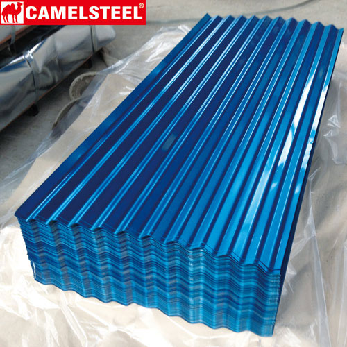Corrugated roofing sheet-camelsteel Pre-painted-galvalume sheet wholesaler