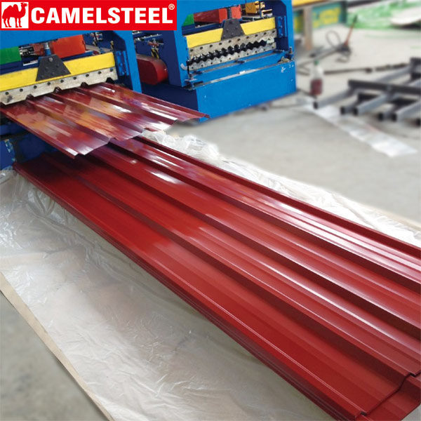 Pre-painted-galvanized Steel Sheet-roofing sheet-camelsteel