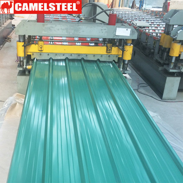 Pre-painted galvanized steel sheet-steel roofing | camelsteel