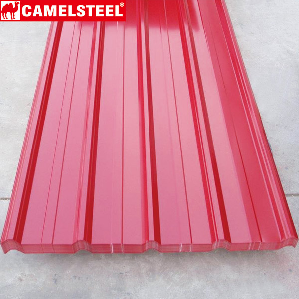 Color Coated GI Corrugated Sheet Pre-painted galvanizedsteel
