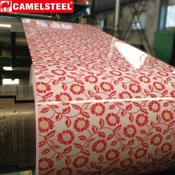 Prepainted Galvalume Steel Coil-pattern design-camelsteel