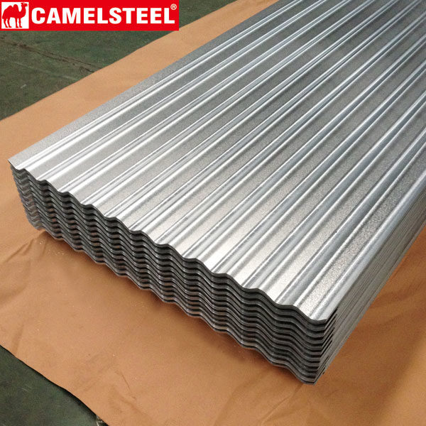 Roofing Sheet-galvanized steel sheet zibo camel materials