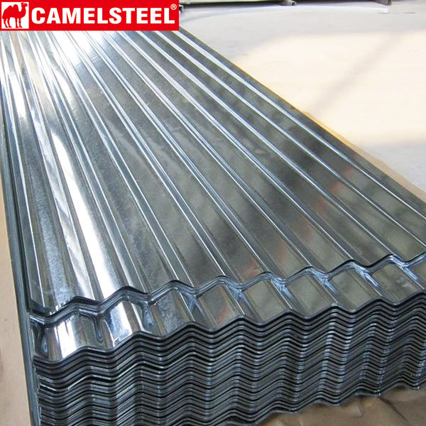 Corrugated Steel Galvalume metal roofing commercial use