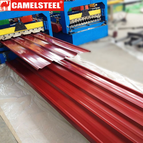 Pre Painted Roofing Sheets Price Zibo Camel Material Co