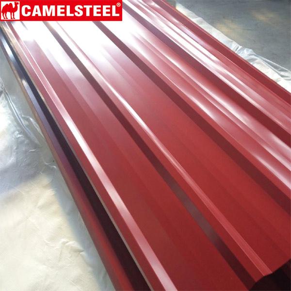 PPGI corrugated iron prices