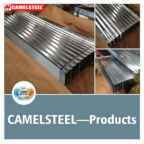 Galvalume Roofing-steel sheet roofing materials-from camelsteel
