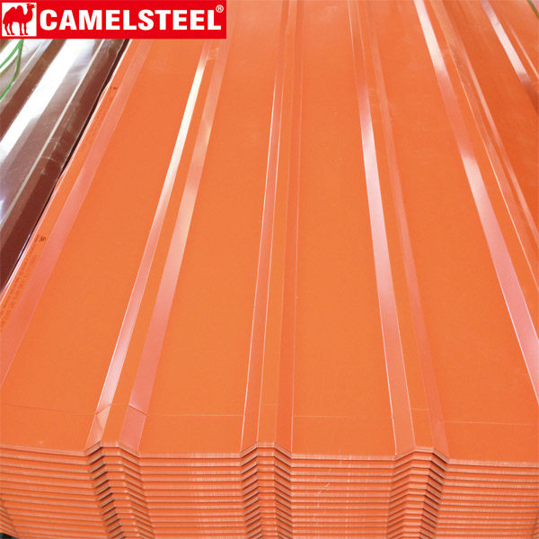 Steel Roofing-Prepainted galvanized steel sheet camelsteel zibo china