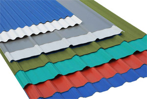 Metal Roofing | Colour Steel Materials
