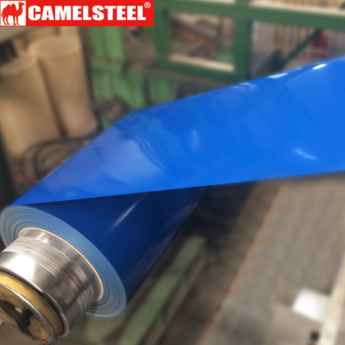 color coated steel coil performance