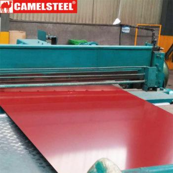 prepainted gi sheet price, color coated steel sheet processing