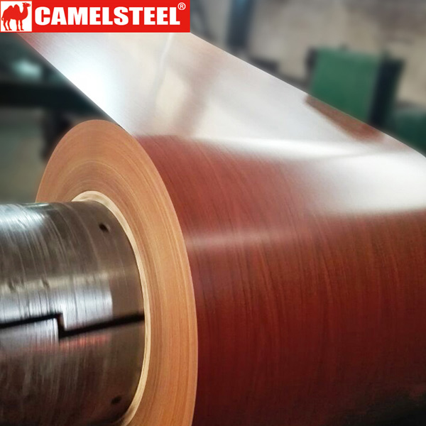 wood design prepainted steel coil
