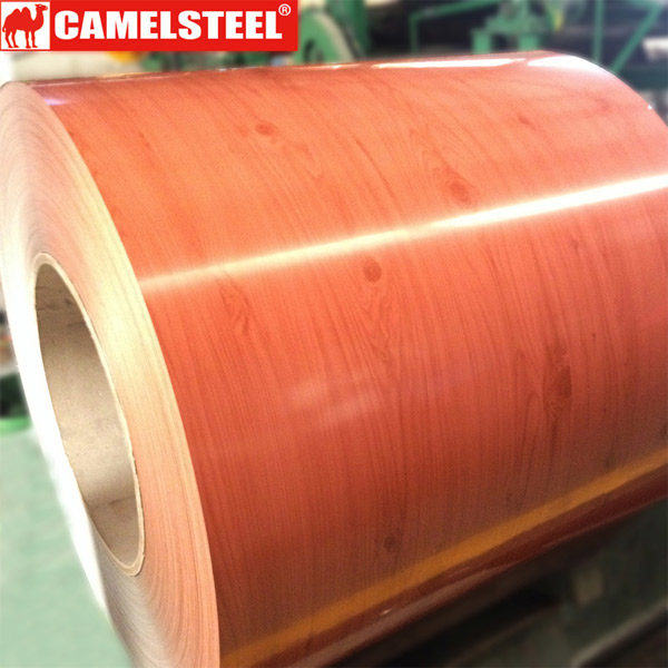 Wood grain-Prepainted galvalume steel coil-ppgl steel coil
