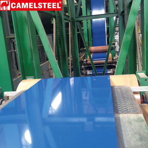 ppgi steel coil waterproof, color coated steel coil application