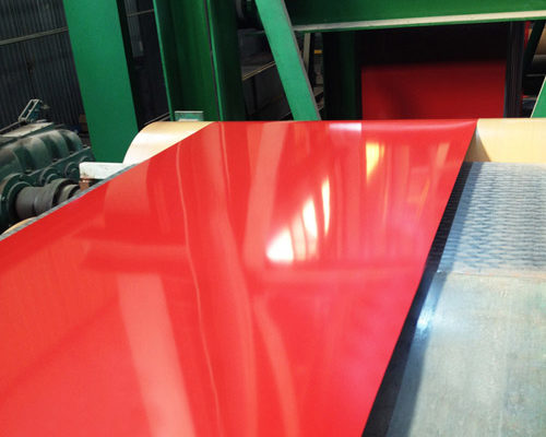 color coated substrates, color coating