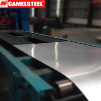 hot dip galvalume steel sheet process