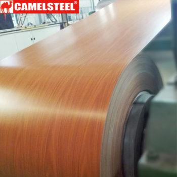 wood grain prepainted steel coil
