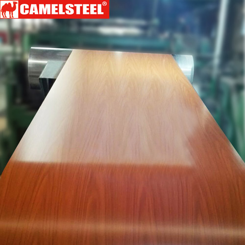 wood prepainted galvanized steel plate