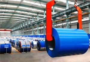 color coated steel coil is used by construction