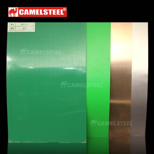 Anodizing color coated aluminum sheet