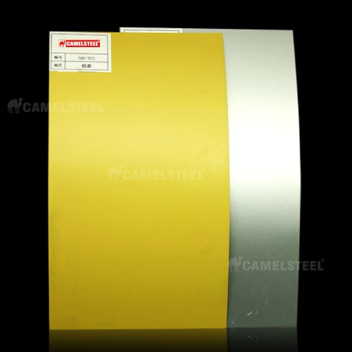 colored aluminum sheet