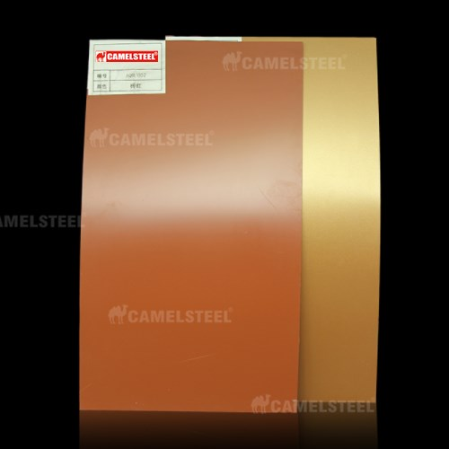 Color coated aluminum building material