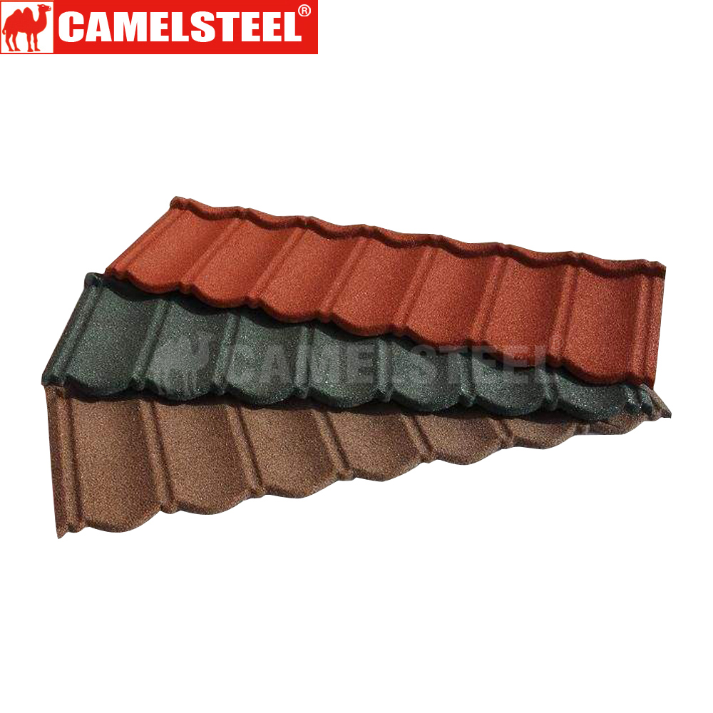 metal colored stone tile